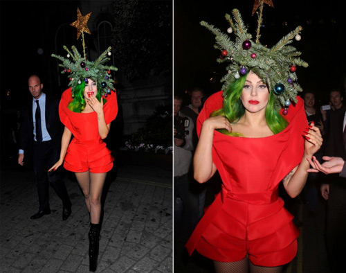 """Trang phục """"ăn theo"""" mùa Giáng Sinh của sao - 7"""