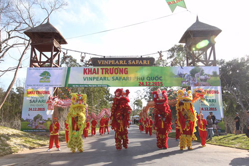 Khai trương Vinpearl Safari Phú Quốc - Vườn thú hoang dã đầu tiên tại VN - 6