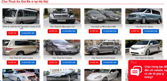"""Càng giáp Tết, giá thuê ô tô càng """"chát"""" - 2"""