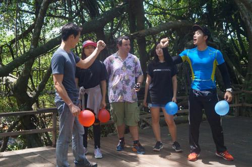 Trương Nam Thành nổi nóng với đồng đội nữ vì không hợp ý - 2