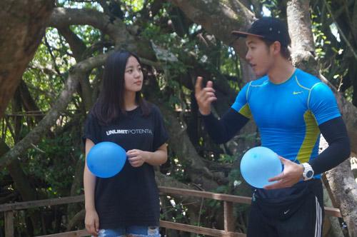 Trương Nam Thành nổi nóng với đồng đội nữ vì không hợp ý - 5
