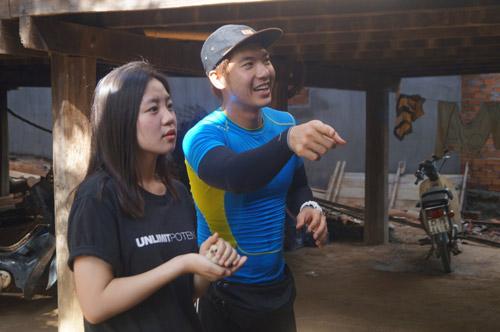Trương Nam Thành nổi nóng với đồng đội nữ vì không hợp ý - 1