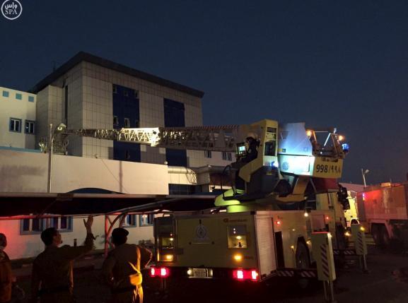 Cháy dữ dội bệnh viện Ả Rập Saudi, 132 người thương vong - 3