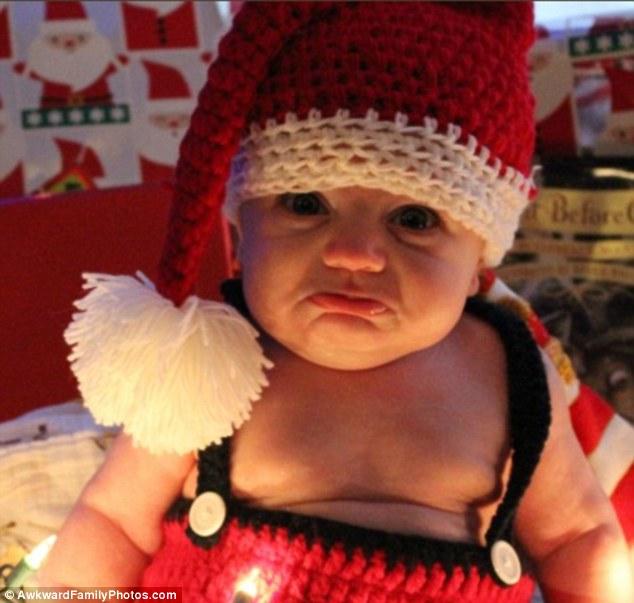 Những bức ảnh gia đình tệ nhất trong mùa Giáng sinh - 1