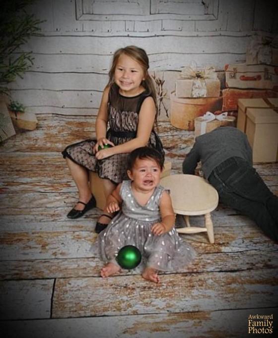 Những bức ảnh gia đình tệ nhất trong mùa Giáng sinh - 8