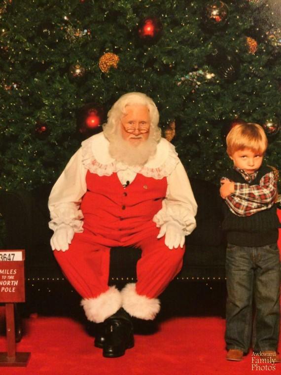 Những bức ảnh gia đình tệ nhất trong mùa Giáng sinh - 11