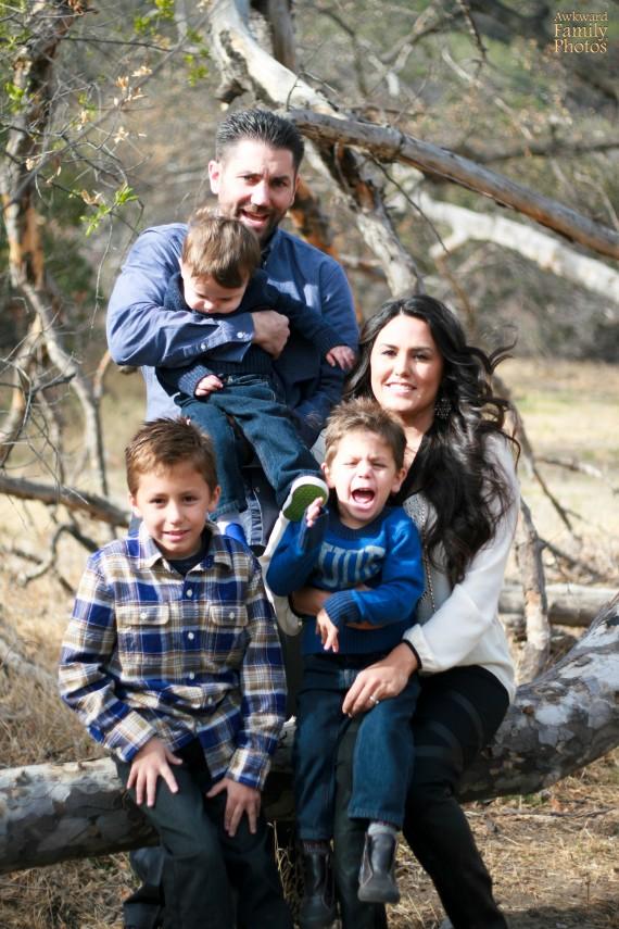 Những bức ảnh gia đình tệ nhất trong mùa Giáng sinh - 13