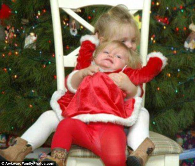 Những bức ảnh gia đình tệ nhất trong mùa Giáng sinh - 3