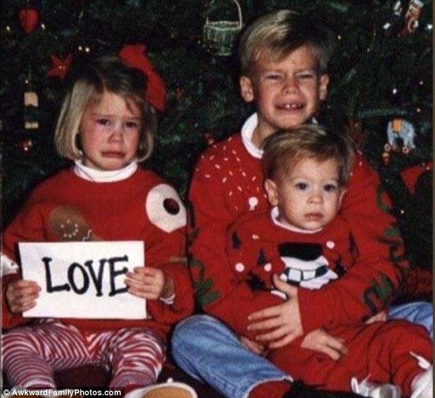 Những bức ảnh gia đình tệ nhất trong mùa Giáng sinh - 5