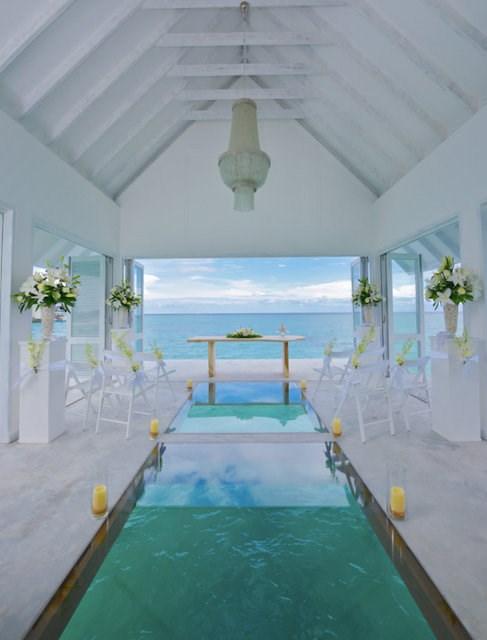 """""""Phát sốt"""" với thánh đường hôn lễ giữa biển đẹp như mơ - 5"""
