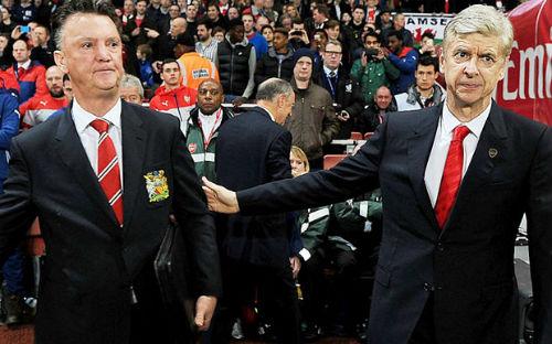 Wenger lên án MU thiếu tôn trọng Van Gaal - 1