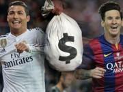 Bóng đá - Ronaldo, Messi kiếm tiền siêu khủng: Đối thủ kỳ phùng