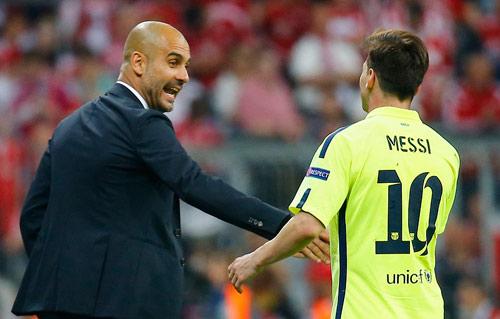 Man City chiêu mộ Pep làm bước đệm đón Messi - 1