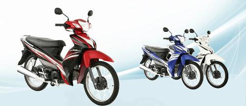 5 mẫu xe máy giá rẻ nhất Việt Nam năm 2015 - 1