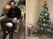 Bóng đá - Sao 360 độ 25/12: Bale trang trí cây thông Noel đặc biệt