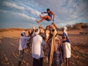 Thể thao - Bất ngờ thể thao Yemen với nhảy lạc đà, xách nước