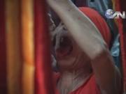 Video An ninh - Rợn người xem lễ hội hành xác độc và dị nhất Việt Nam
