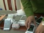 Video An ninh - Thu giữ lô điện thoại thẩm lậu từ bên kia biên giới