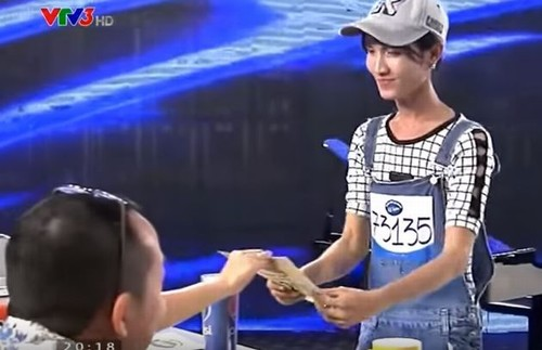 Hoa hậu chuyển giới Việt Nam từng nhận vé vàng Idol - 1