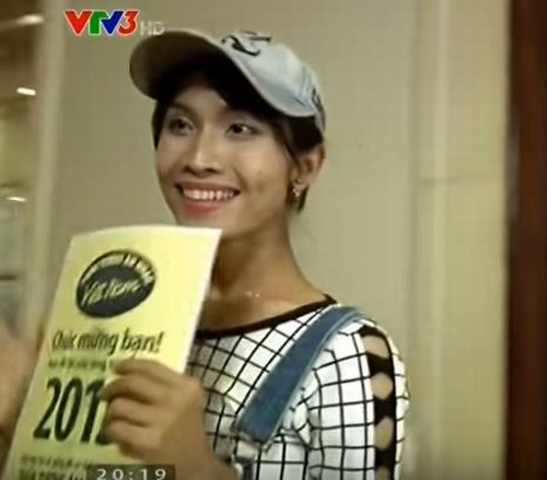 Hoa hậu chuyển giới Việt Nam từng nhận vé vàng Idol - 2