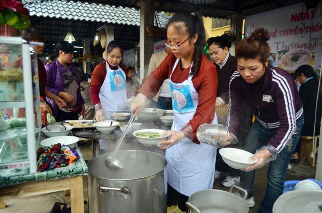 Bật mí bí quyết làm bún tại làng nghề nổi tiếng nhất Hà thành - 11