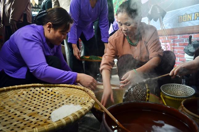 Bật mí bí quyết làm bún tại làng nghề nổi tiếng nhất Hà thành - 9
