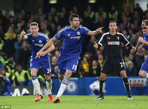 Chelsea - Watford: Quả penalty định mệnh phút 82 - 1