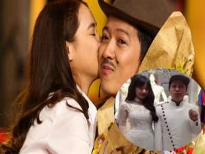 Đời sống Showbiz - Facebook sao 26/12: Trường Giang, Nhã Phương thử áo cưới