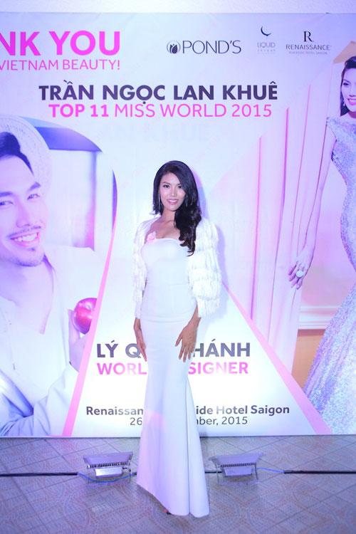 Lan Khuê bật mí hành trình tỏa sáng sau Miss World - 1
