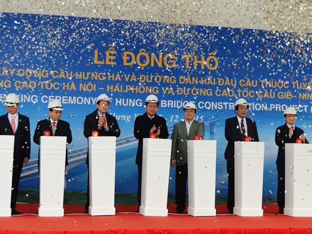 Xây cầu nối 2 cao tốc hiện đại nhất Việt Nam - 1