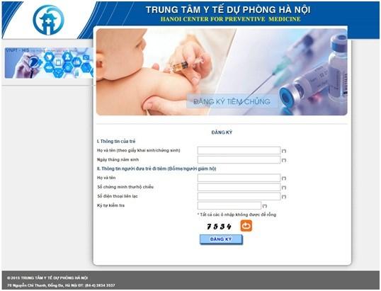 Cách đăng ký tiêm vắc xin Pentaxim cho con tại Hà Nội - 2
