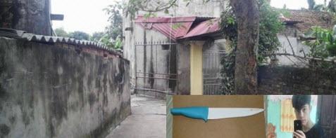 Thanh niên nặng hơn 30kg đâm chết người ở cổng nhà - 1