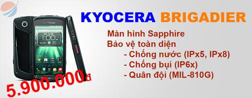Kyocera Brigadier- Smartphone Nhật Bản thách thức mọi va chạm - 1