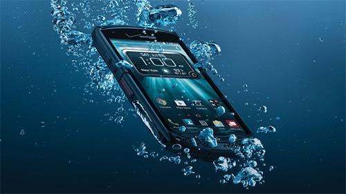 Kyocera Brigadier- Smartphone Nhật Bản thách thức mọi va chạm - 3