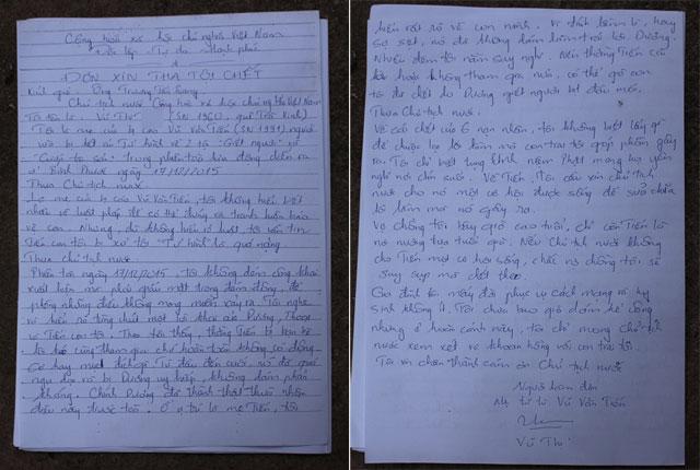 Thảm án Bình Phước: Mẹ Tiến viết đơn gửi Chủ tịch nước - 4