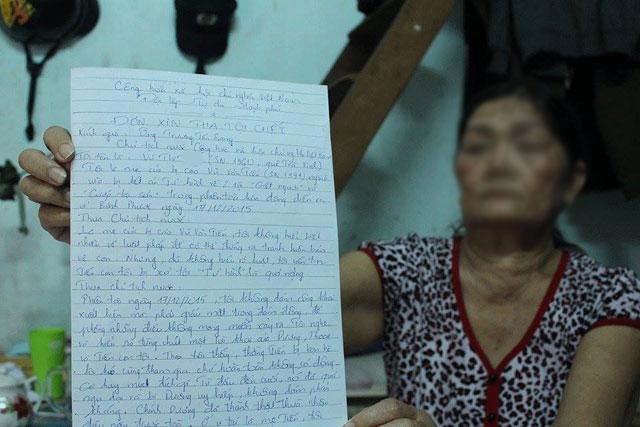 Thảm án Bình Phước: Mẹ Tiến viết đơn gửi Chủ tịch nước - 3