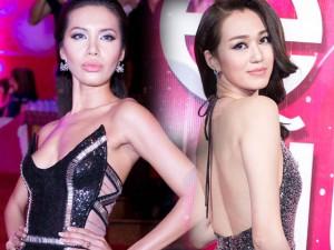 Thời trang - Minh Tú, Khánh My gợi cảm hút mắt trên thảm đỏ