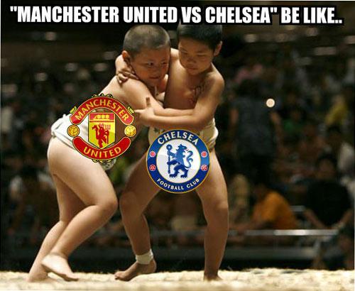 Ảnh chế trận hòa kinh điển giữa Man Utd - Chelsea - 1