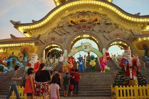 Đón năm mới 2016 tại Suối Tiên - 2