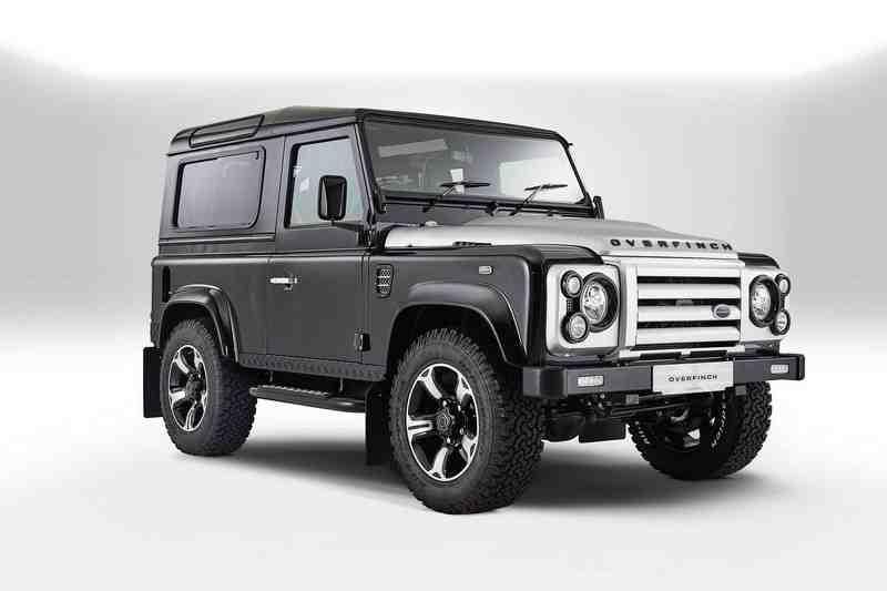 Ra mắt hàng 'khủng' Land Rover Defender bản đặc biệt - 5