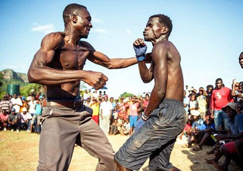 Boxing bộ tộc: Đánh cho đối thủ xin mới thôi - 1