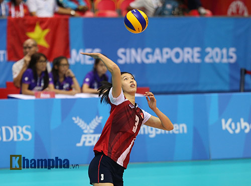 Chân dài cao nhất bóng chuyền VN đầu quân CLB số 1 Thái - 4