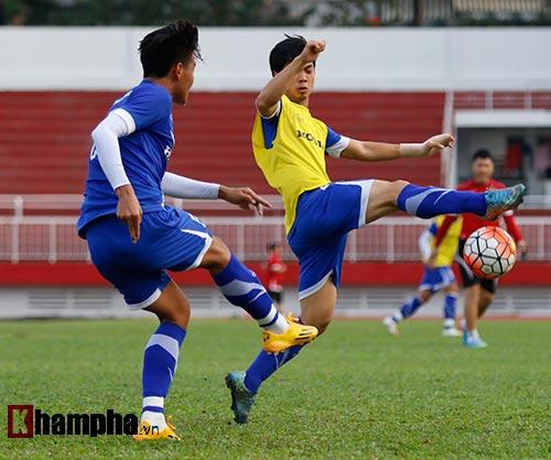 """U23 Việt Nam """"căng như dây đàn"""" trước ngày đi Qatar - 7"""