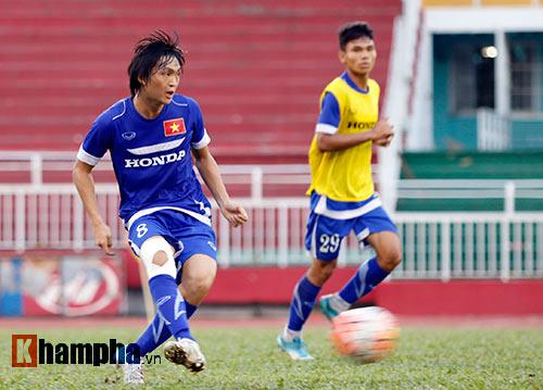 """U23 Việt Nam """"căng như dây đàn"""" trước ngày đi Qatar - 5"""