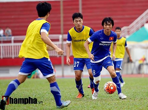"""U23 Việt Nam """"căng như dây đàn"""" trước ngày đi Qatar - 6"""
