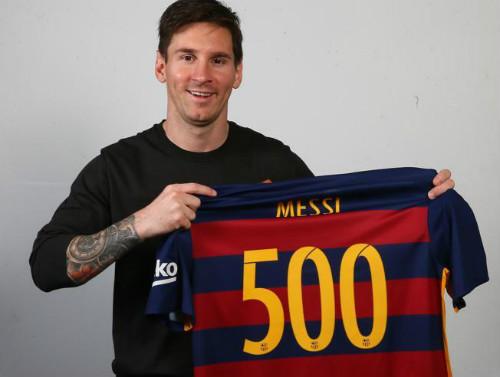 Messi & 500 trận cho Barca: Vui kỉ lục, lo Neymar - 1