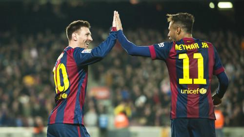 Messi & 500 trận cho Barca: Vui kỉ lục, lo Neymar - 2