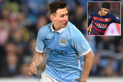 Man City - MU và cuộc chiến tranh giành Messi - Neymar - 1