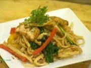 Ẩm thực - Cách làm mỳ Ý sốt chay nhanh chóng đơn giản