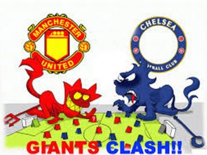 Ảnh chế trận hòa kinh điển giữa Man Utd - Chelsea